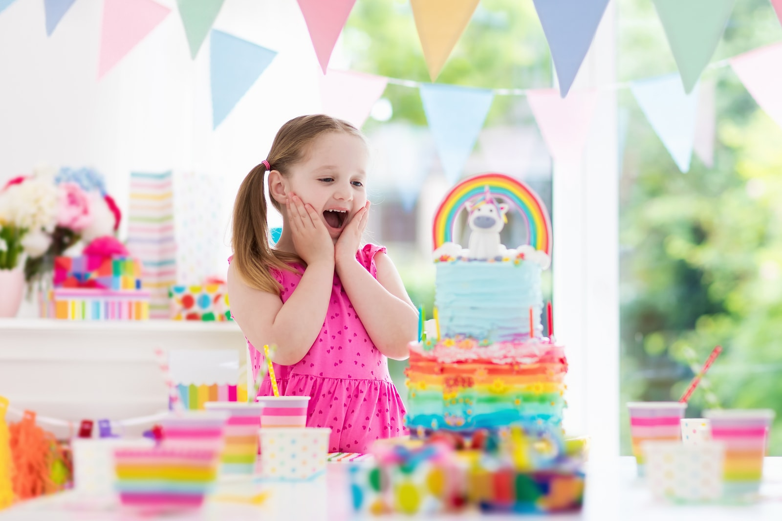 The Best Rainbow Birthday Party Ideas