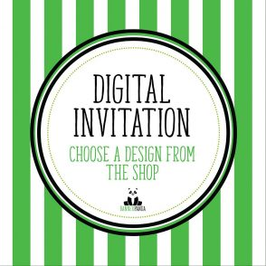 Digital Version of Any Invitation In Our BannerPanda Shop