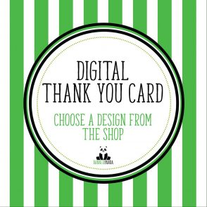 Digital Version of Any Thank You Card In Our BannerPanda Shop