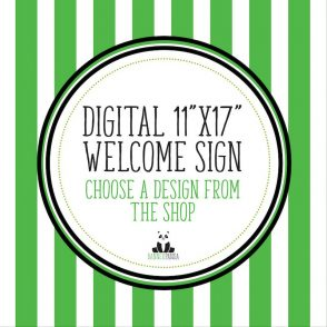 Digital Version of Any Welcome Sign In Our BannerPanda Shop | Nothing Will Be Shipped