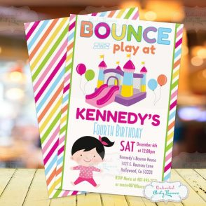 Bounce House Invitation