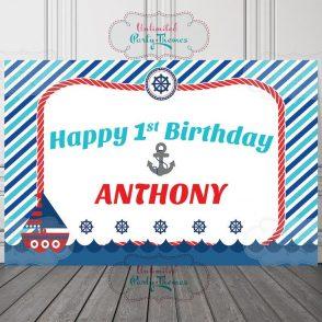 Nautical Birthday Boy