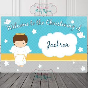 Baptism Party Sign
